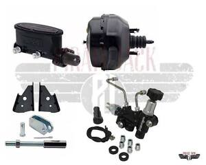9 Dual Power Brake Booster Wilwood Master Cylinder Assembly Disc Drum