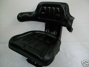 Black Suspension Seat Massey Ferguson 135 250 165 175 255 265 180 185 ia