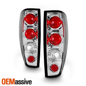 Fits 04 12 Chevy Colorado Canyon Pickup Truck Chrome Tail Brake Lights Lamp Pair