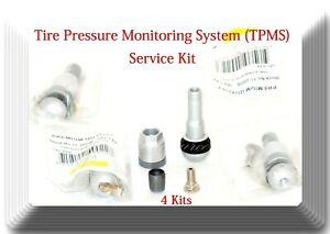 4 Repair Kits Of Tire Pressure Monitoring System Tpms Sensor Fits Mercedes