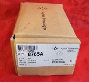 New Hp Agilent Keysite 8765a Coaxial Switch Free S h