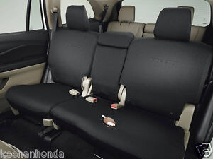 Genuine Oem Honda Pilot 2nd Second Row Seat Cover Ex L Touring 16 18 Covers
