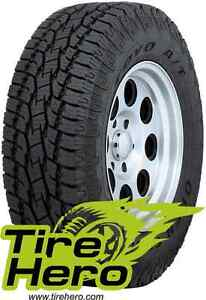 P275 60r20 Toyo Open Country A T Ii Blk 114t New Set Of 4