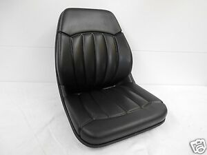 High Back Black Seat Bobcat 463 542 543 642 643 742 743 843 t190 Skid Steer cb