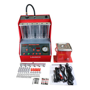 Original Cnc602a Ultrasonic Fuel Injector Cleaner Tester With English Panel