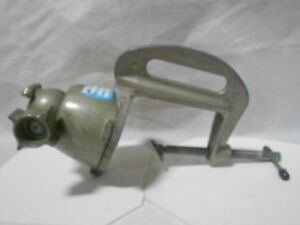 Panavise 311 Stationary Clampon Vise Base 3 7 16 Open Clamp With Swivel Mounth