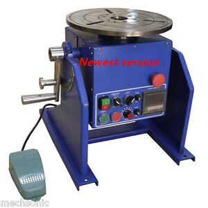 50kg Welding Automatic Positioner For Mig tig Welder Positioner jaw Chuck Us1