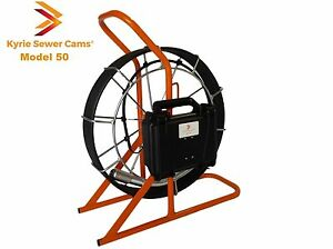 Kyrie Sewer Cam 50 Ft Drain Pipe Inspection Camera Usa Made 50