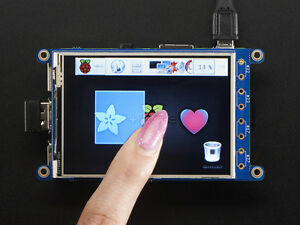 Adafruit Pitft 320x240 3 2 Tft touchscreen Resistive Lcd Display Raspberry Pi