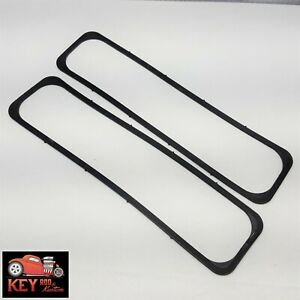 Sbc Center Bolt Rubber Reusable Valve Cover Gaskets 87 Up 305 350 Vortec Tbi