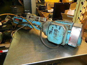 Suhner Mono Master Automatic Drill Unit W 3 4 Hp Abb Ac Drive Motor Used