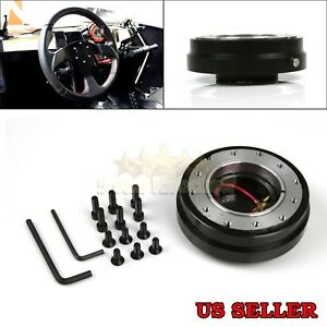 For Ford Aftermarket Slim Quick Release Kit For 6 Hole Steering Wheel Hub Boss