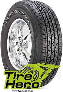 P245 60r18 Firestone Destination Le 2 Blk 96h New Set Of 4