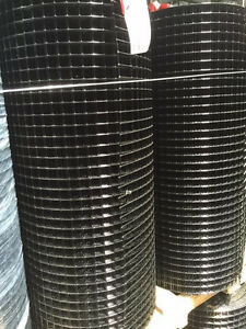 1x1 14g 36 x100 Black Pvc Coated Galvanized Welded Wire Mesh Rolls