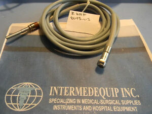 R Wolf Fiber Optic Cable 8095 05 Endoscopy Arthroscopy Light Source Storz