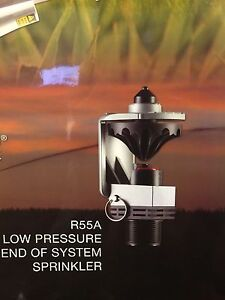 R55a Sprinkler low Pressure end Of Irrigation System