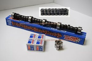 Chevrolet 283 305 327 350 Chevy Camshaft Cam Lifters Springs Comp Stage 2