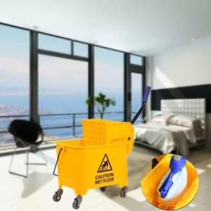 Commercial Bucket Wringer 20l Mop Bucket Yellow Commercial Combo