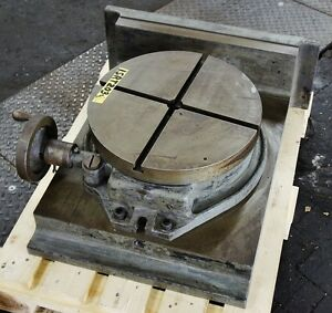 Troyke 15 Horizontal Rotary Table Bh 15