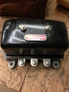 Jeep Willys Mb Gpw Dodge Military A 1409 Nos 6 Volt Voltage Regulator G 503
