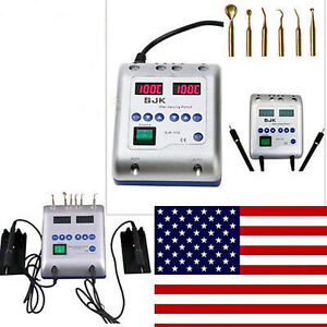 Dental Lab Electric Waxer Carving Knife Machine Double 2 Pens W 6 Wax Tip