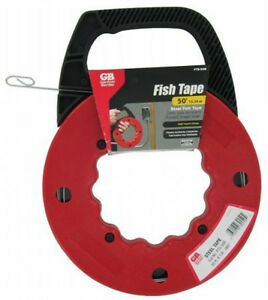 Gardner Bender Fts 50b High Impact Wire Pull 50 Feet Steel Fish Tape