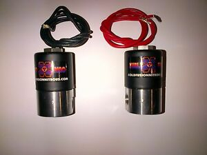 Nos zex nx edelbrock holley Nos Big Shot Nitrous fuel Solenoids 350hp New
