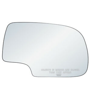 Chevy Gm Truck Suv Right Side Rh Passenger Power Convex Replacement Mirror Glass