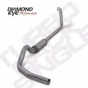 Diamond Eye 4 Turboback Exhaust System For 1999 2003 5 Ford F 250 F 350 7 3l