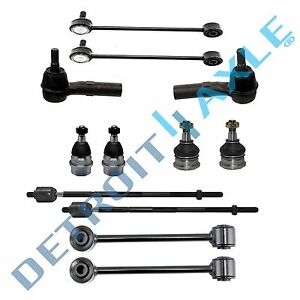 New 12pc Complete Suspension Kit For Jeep Commander Grand Cherokee 4x4 2wd