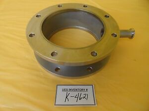 Mdc High Vacuum Adapter Tube Flange Tee Iso160 Iso f Nw16 Used Working