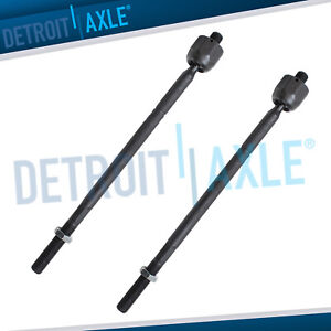Pair Front Inner Tie Rod Ends For 2006 2012 2013 Land Rover Range Rover Sport