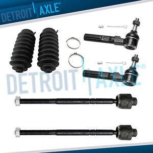 99 07 Chevy Silverado Sierra 1500 Front Inner Outer Tierod Steering Boot Kit 2wd