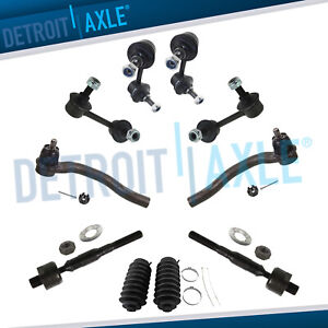 Fit 2006 2011 Honda Civic 1 8l Only Sway Bar End Link And Tierod End Kit 10pc