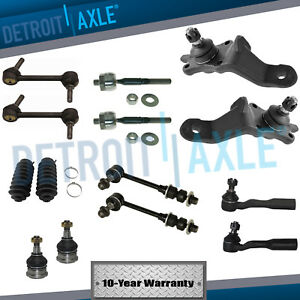 New 14pc Complete Front Rear Suspension Kit For Toyota Sequoia 2001 2002