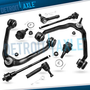 8pc Front Suspension Kit Upper Control Arm Tie Rod Kit Gmc Yukon Chevy Tahoe