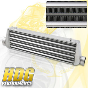 Universal 28 X 7 X 2 5 Tube And Fin Aluminum Front Mount Intercooler Fmic