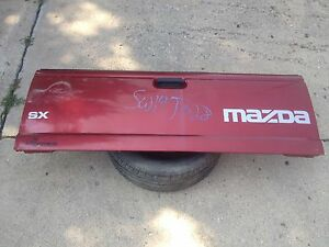 93 11 Ford Ranger Mazda Tailgate Tail Gate Maroon