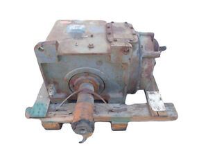 Used Falk Enclosed Gear Drive Model 3ap Ratio 107 3 Irpm 107 3 Orpm 11 18
