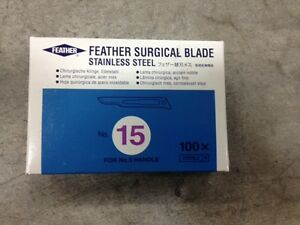 Scalpel Replacement Blade 72044 15 Box Of 100
