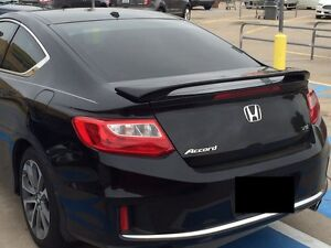 Fits Honda Accord Coupe 2dr Grey Primer Custom Rear Spoiler Wing Fits 2013 2017