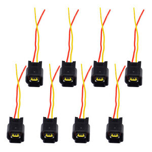 8pcs Ignition Coil Harness Connector Modular For 1991 2011 4 6l 6 8l Ford Focus