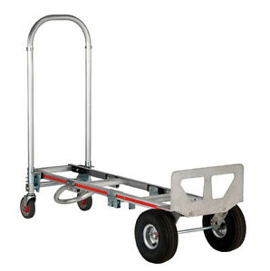 Magliner Gemini Sr W 4 ply Pneumatictires 20x12 Extruded Nose Stair Climbers