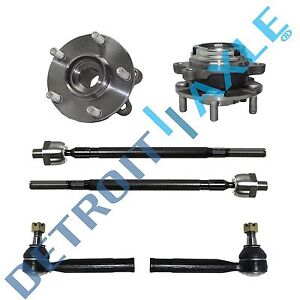 Front Wheel Bearing For 2004 2005 2006 2007 2008 2009 Nissan Quest W Tie Rods