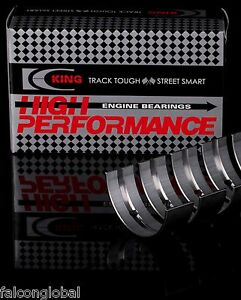 Chevy Sb 305 327 350 383 Lt1 King Performance Race Hp Rod Main Bearings Set 010
