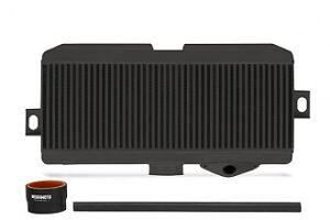 Mishimoto Black Core Hose Top Mount Intercooler Kit For 2008 2016 Subaru Sti
