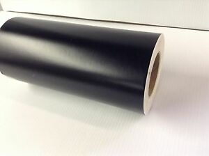 12 Sign Vinyl Roll Matte Black 150 Roll Fast Ship General Formulations