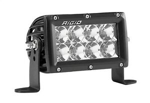 104113 Rigid Industries Led E Series Pro Hybrid Optics Flood Light 4 Light Bar