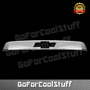 For Chevy 07 11 12 13 14 Tahoe Upper Trunk Rear Door Handle Cover W Logo Cutout