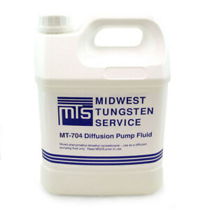 Mt 704 Diffusion Pump Oil One Gallon High Vacuum Dow Corning Equivalent